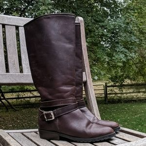 Santana Canada Buckle Strap Leather Winter Boots